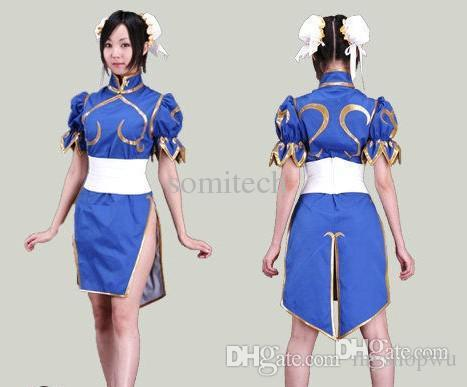 Wholesale-Halloween costumes for kids Street Fighter The Legend of Chun-Li cosplay  sc 1 st  DHgate.com & Wholesale Halloween Costumes For Kids Street Fighter: The Legend Of ...
