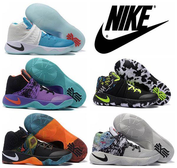 Großhandel Nike Kyrie 2 BHM Black History Month Multi Color 828375 099 Herren Basketball Schuhe Für Männer Sport Turnschuhe Größe 7 12 Von