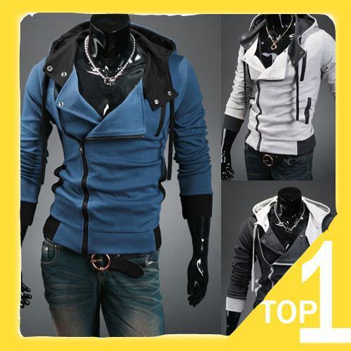 2016 Yeni erkek Hoodies Moda Kış Kapşonlu Kazak Artı Boyutu Trençkot Noel Uzun Kollu Hırka Erkekler Giyim Giyim N23