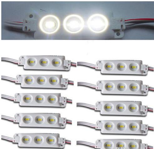 top popular New Arrival 5630 SMD Led Modules Injection ABS Plastic 3Leds 1.5W Super Bright White Warm White Red Blue Yellow String Waterproof IP65 2019