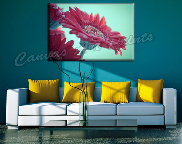 Dropship Wall Decor Canvas Flowers Printed Painting Design Canvas Art Prints Modern Pictures for Living Room Home Decoration Pieces