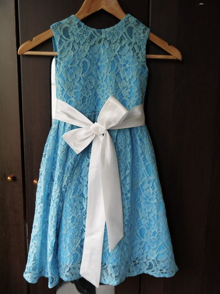2020 New Lace flower girl dresses, fashion princess dress brand of high purity cotton children's clothing girls dress