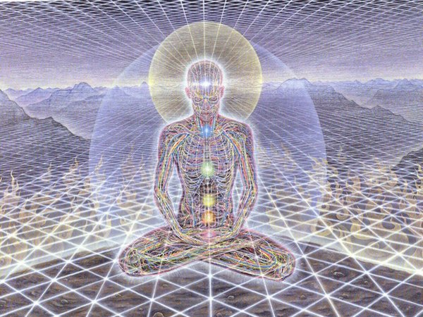 """top popular poster 32x24"""" 17x13"""" Trippy Alex Grey Wall Poster Print Home Decor Wall Stickers poster Decal--112 2021"""