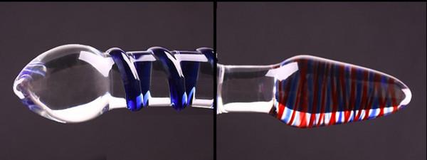 Il sesso libero di vetro del dildo del pene di lucentezza libera gioca il masturbatore di cristallo per la donna, prodotto anale del sesso adulto della masturbazione femminile