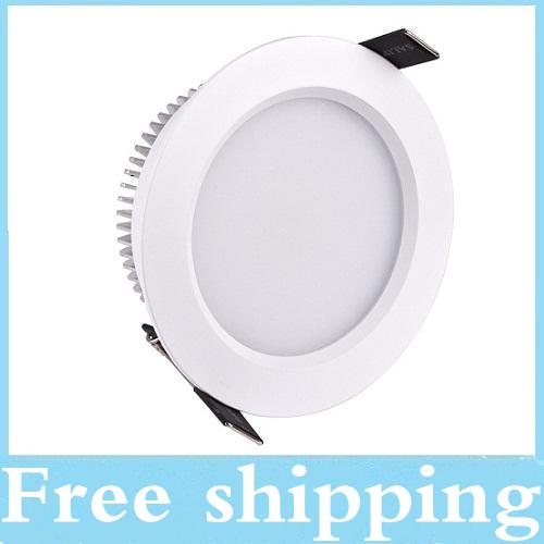 "best selling 2015 Newest 2.5"" 3"" 4"" 5"" Led Recessed Downlights 9W 12W 15W 18W Dimmable Led Ceiling Down Lights 150 Angle Warm Cool White AC 110-240V"