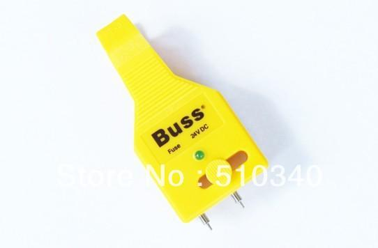 top popular Wholesale-New great auto tool,car fuse tester free shipping fuse clip 2021