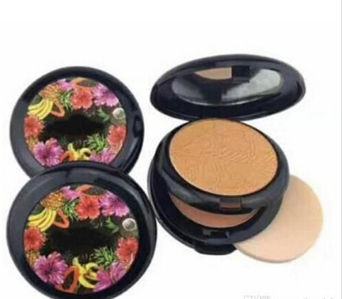 New brand Makeup Fruity Juicy Two Powder Double Powder Mixed Colors Fruity Juicy Face Powder high Quality Free Shipping
