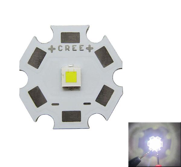 CREE XPL XP-L Beyaz / Sıcak Beyaz LED Verici Işık Lens Olmadan 20mm 16mm 14mm 12mm 8mm PCB Kurulu