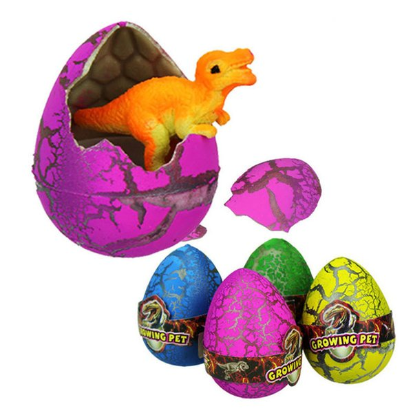 Hatching Growing Dinosaur Fun Toys Add Water Growing Dino Eggs Toys Girls Boy Christmas Birthday Gift Factory Wholesale