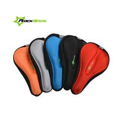 Hot Sale RockBros 3D Silicone Gel Pad Bike Bicycle Cycling Cycle Seat Cover, Ventilate Soft Cushion Saddle Cover For All Bikes