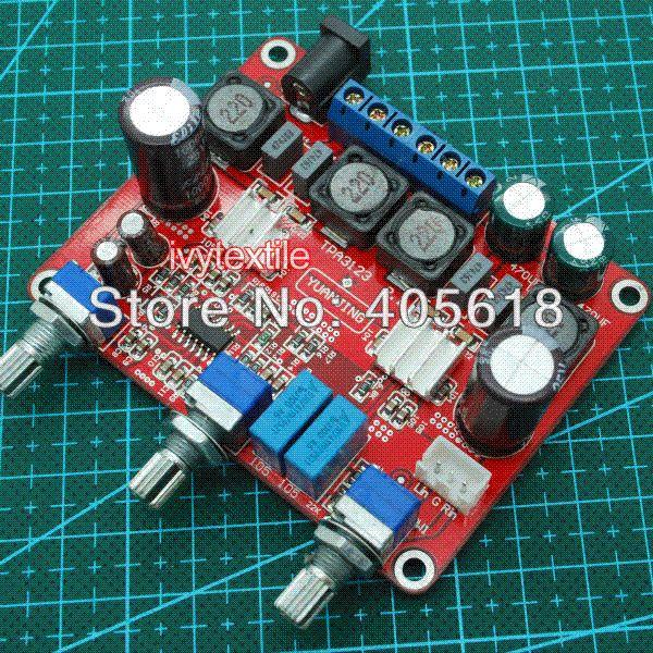 Assembled HI-FI TPA3123 Amplifier AMP Board 2.1 Channel 25WX2 + 50W Subwoofer Amplifier Cheap Amplifier
