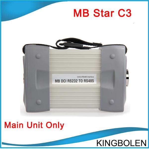MB Star C3 Hauptgerät für Mercedes Benz Diagnostic Star Compact 3 DHL geben Verschiffen frei