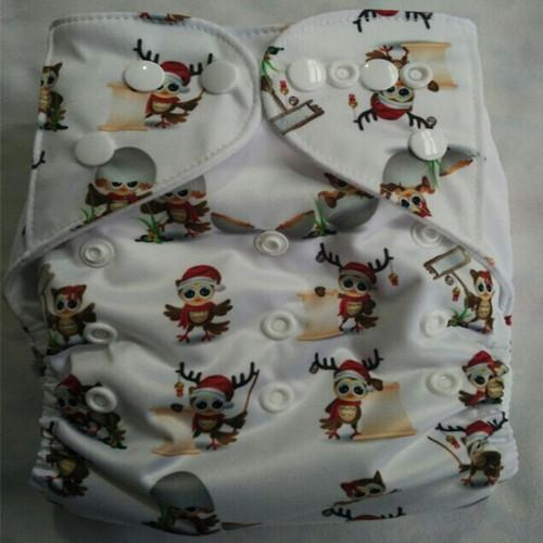 2015 New Design Printed Reuseable Washable Pocket Cloth Diaper Nappy With Insert Free Shipping TN