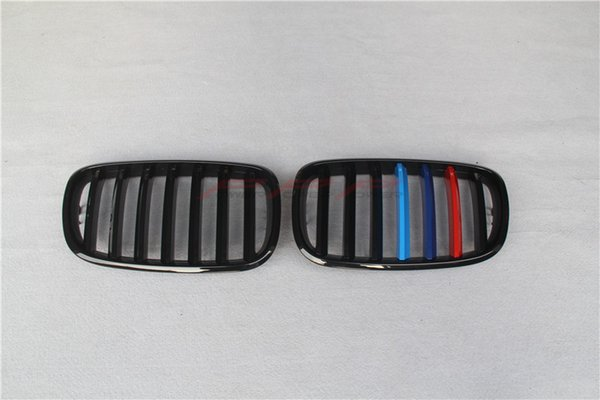 ABS Three colors M look Single Slat Front Grille For BMW E70 E71 X5 X6 OEM 2006 2007 2008 2009 2010 2011 2012 2013
