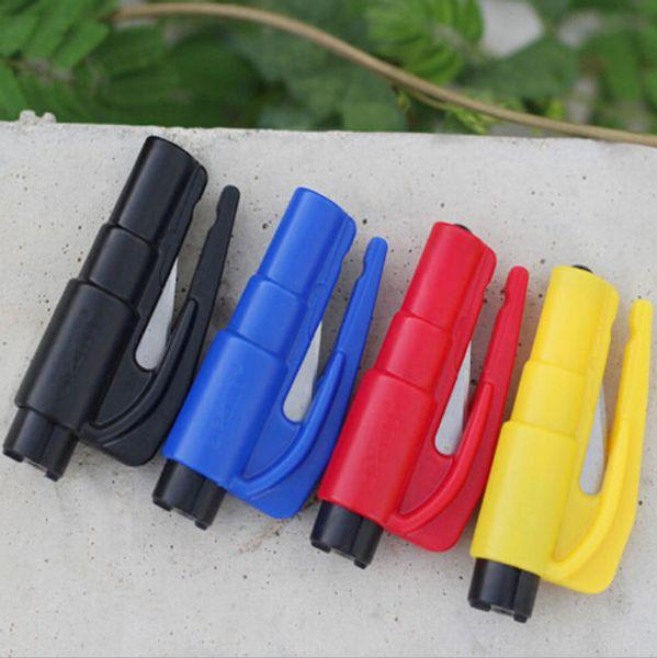 top popular 500X Keychain Car Emergency Rescue Safety Glass Breaker Hammer Escape Tool 2019