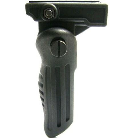 top popular Tactical Folding Foldable Foregrip Fore Grip for 20mm Picatinny Weaver Rail 2020
