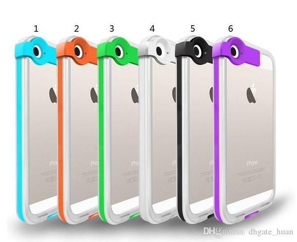 "Lightning Flash LED Light Up Phone Case Transport for iPhone 6 4.7"" 6 plus 5.5"" 5 5s"