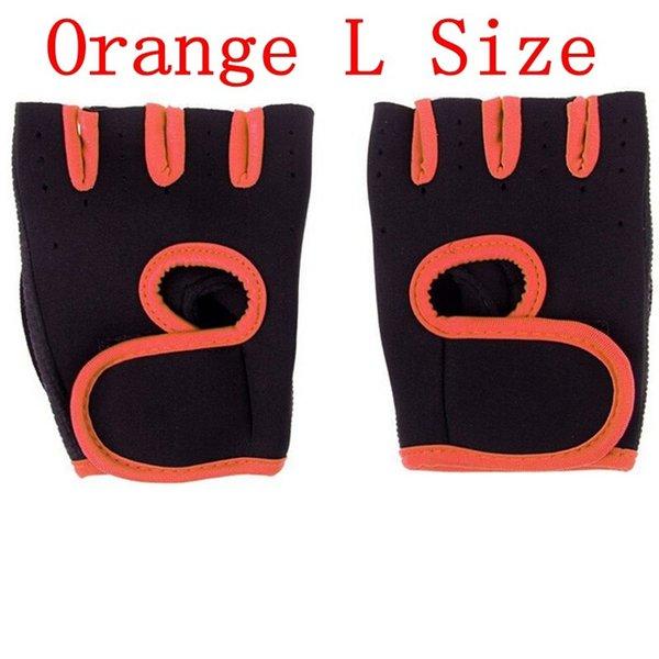 Couleur orange taille L