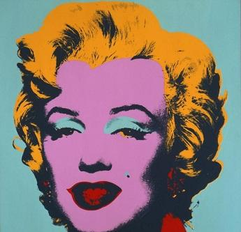Andy Warhol Marilyn Monroe High Quality Pure Hand Painted Portrait Wall Art Oil Painting On Canvas Multi sizes Free Shipping berkP122