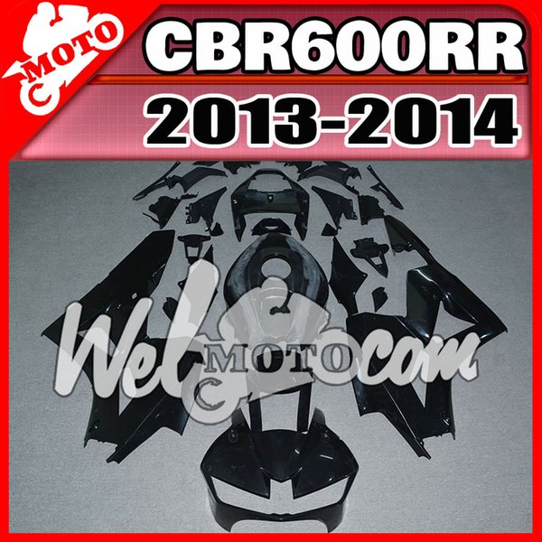 En stock Welmotocom Injection Mold Sin pintura (Sin pulir) Carenados para Honda CBR600RR CBR 600 RR CBR 600RR 2013 2014 13 14 H62W00