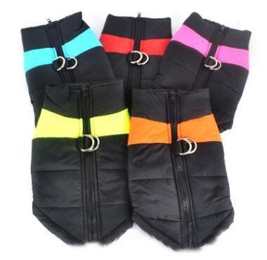 Waterproof Pet Dog Puppy Vest Jacket Chihuahua Clothing Warm Winter Dog Clothes Coat For Small Medium Large Dogs 5 Colors