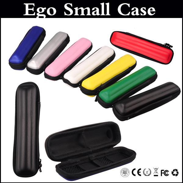Estuche EGo Ecig kits Bolso de cuero colorido estuche individual para ego t Vision spinner E Cigarette