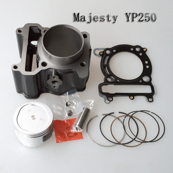 top popular Engine Cylinder Kit yamaha Majesty YP250 9MM Motorcycle Cylinder Kit With Piston Cylinder block And Pin for YAMAHA 2021