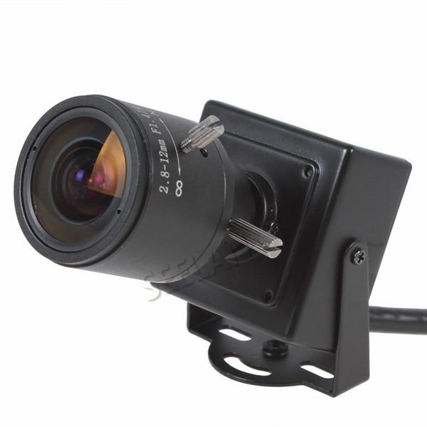 960P microphone camera mini IP Camera support ONVIF 2.8-12mm manual varifocal zoom lens P2P Plug and Play cctv security camera