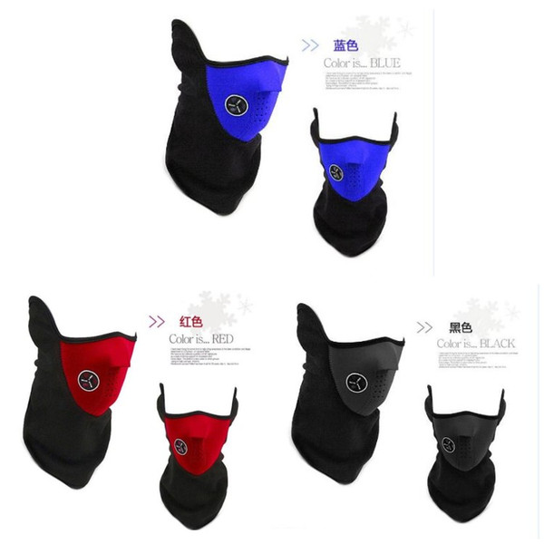 New 2016 Neck Warm Half Face Mask Winter Veil For Sport Bike Bicycle Sport Motorcycle Ski Snowboard Cycling Masks