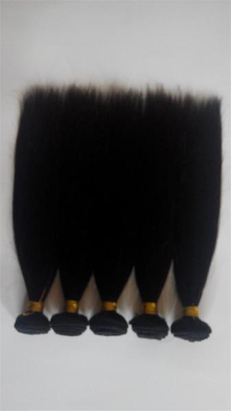 6A alta qualità 100% vergine capelli umani trama del tessuto non trasformati economici brasiliani peruviani malesi estensioni dei capelli lisci indiani dhgate