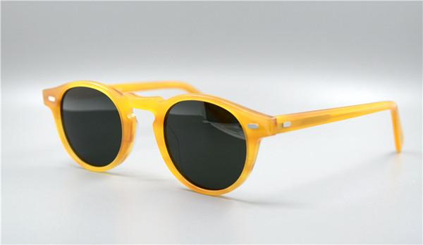4bb1344a51a Wholesale-NEW 2016 Vintage mens and womens sun glasses oliver peoples  sunglasses ov5186 polarized sunglasses retro designer men brand glass