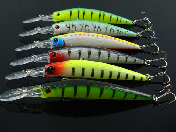 Dving big game fishing lure Crank for bass Minnow saltwater fly fishing bait China 6colors 14.5cm/14.7g 20pcs/lot