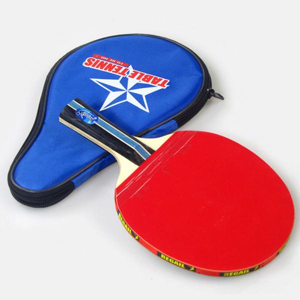 Jogos de Lazer Raquetes de Tênis de Mesa Tênis de Mesa Raquete de Ping-Pong Um Aperto de Mão-de-Morcego Paddle Ball Ping Pong Raquets