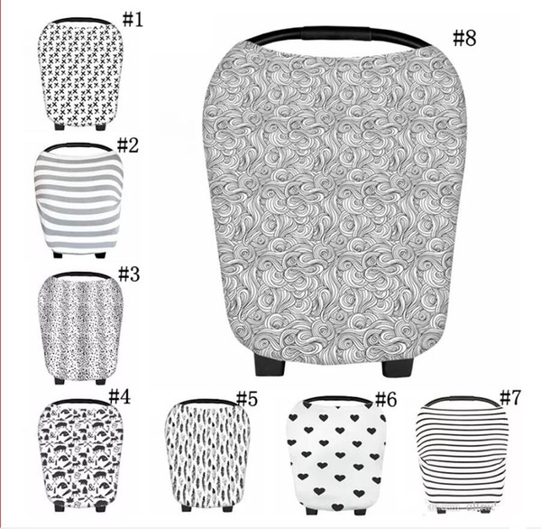 best selling New Arrival Soft Nursing Cover Breastfeeding Scarf Baby Car Seat Cover Canopy and Nursing Cover for Babies