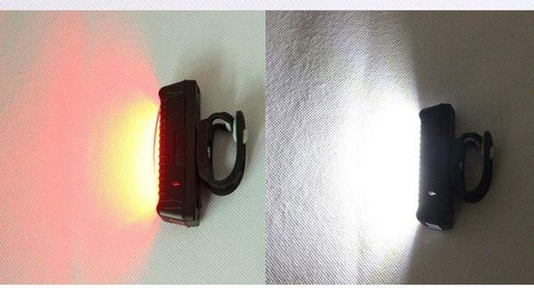 Lumière rouge blanc