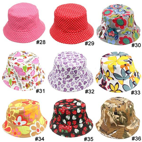 TOP 2015 baby Boys girls Hat 36 styles choose freely flower smile animal  camouflage strawberry casual Child Hat kids Caps 10pcs lot f380f22d6f2b