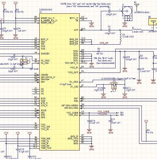 LMC9830SM Bluetooth Module schematic file lmc9830 designed by Altium Designer Free Shipping