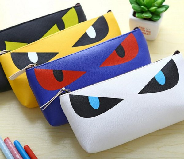 Big Eyes Pencil Pen Case Cosmetic Small Makeup Tool Bag Storage Pouch Purse