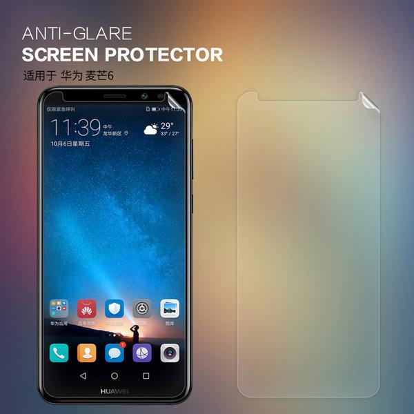 2 pcs/lot For Huawei Nova 2i Nova2i screen protector NILLKIN Anti-Glare Matte protective film for huawei mate 10 lite with retailed package