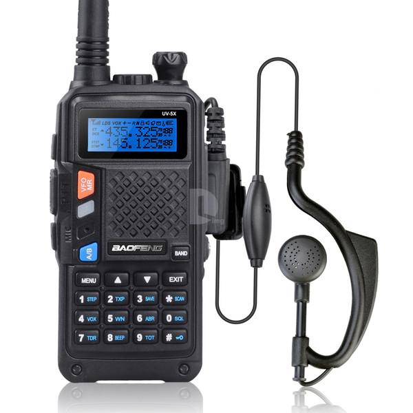 Wholesale-BAOFENG UV-5X Upgraded Version of Baofeng UV-5R UHF+VHF Two-Way Radio Walkie Talkie FM Function w/ Original Main Board P0015842