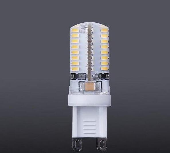G9 led 64 leds smd 3014 3w 200lm led corn lamps silicone bulbs Energy saving Warm / White 64 led 5PCS