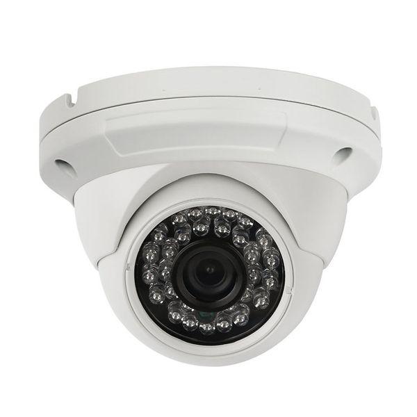 Analog surveillance camera HD 1200TVL Security Camera, Surveillance CCTV Infrared Dome Camera with Night Vision and 3.6 mm Lens Wide angle