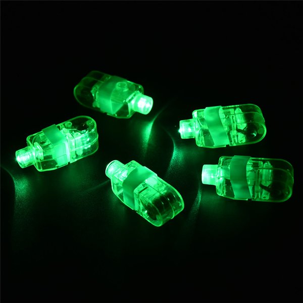 best selling Manufacturers sale LED Finger Lamp LED Finger Ring gifts Lights Glow Laser Finger Beams LED Flashing Ring Party Flash Kid Toys 4 Colors