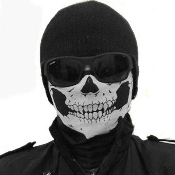 Halloween Party Skull Mask Bandana Outdoor Sport Motorcycle Biker Scarf Party Face Mask Half Face Masks