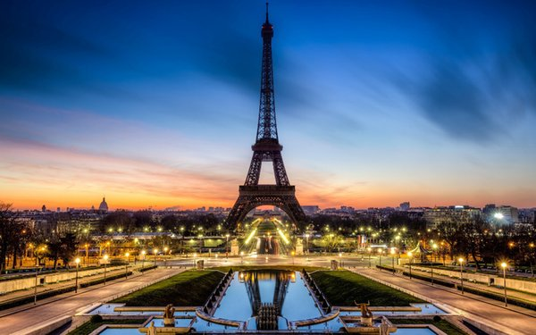 P0519 Eiffel Paris France City Eiffel Tower Vertical Posters For College Dorm 50x75cm Hd Widescreen Wallpapers For Desktop Hi Def Wallpaper Free From