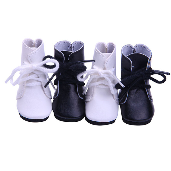 2colours Handmade Doll shoes for 14.5 Inch American Girl Doll Clothing Accessories Wellie Wisher