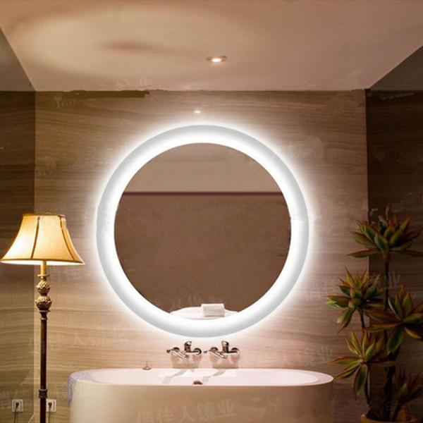 Großhandel Anti Nebel Spiegel Lampe Badezimmerspiegel Runde LED Wandleuchte  Wasserdicht Spiegel Badezimmer Schlafzimmer Wandbehang LED Leuchten Von ...