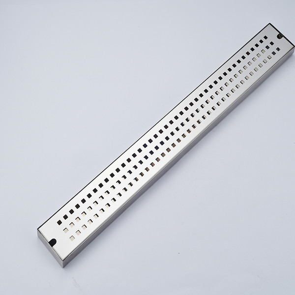 Wholesale And Retail Chrome Stainless Steel Floor Filler Bathroom Shower Grate Waste Grill Square Ground Leakage