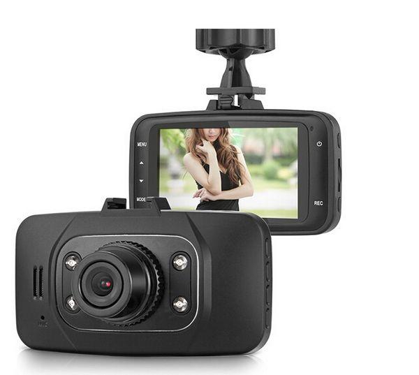 "Hot Brand New GS8000L 2.7"" Car DVR Vehicle Camera Video Recorder DashCam G-sensor Camera 10pcs DHL"