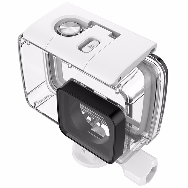 Freeshipping YI Custodia subacquea impermeabile 40m impermeabile per Xiaomi YI 4K Action Camera 2, Yi Camera II Accessori